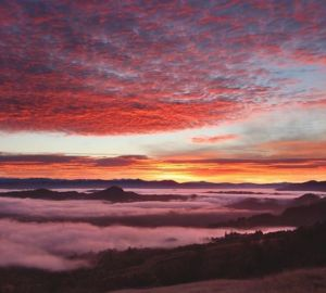 humboldt county, sunrise, north coast, northern california